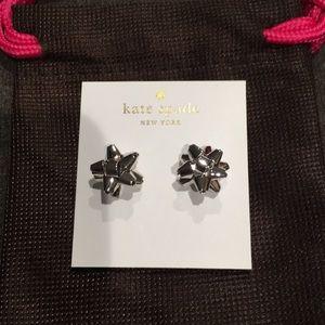 Brand new pair of Kate Spade bow earrings